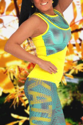 Samba zöld-sárga pöttyös trikó