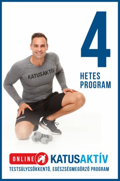 ONLINE KATUSAKTÍV 4 hetes program