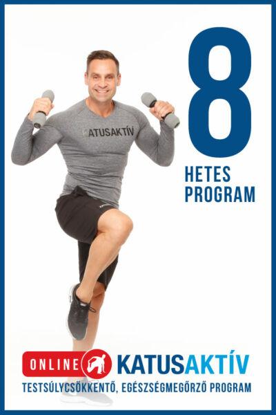 ONLINE KATUSAKTÍV 8 hetes program