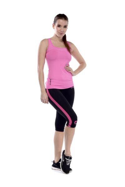 Pink fitnesz trikó