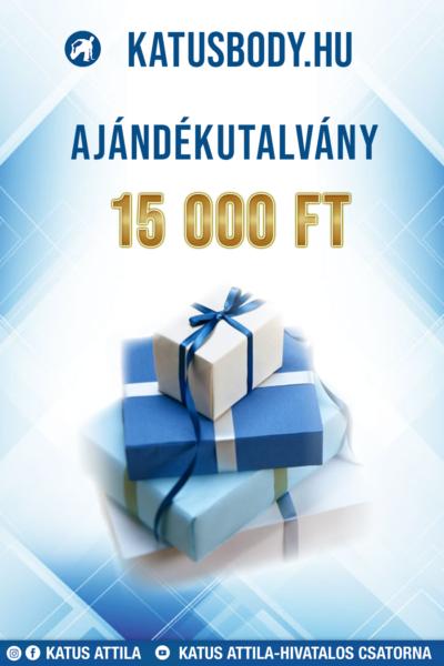 Ajándékutalvány 15.000 Ft