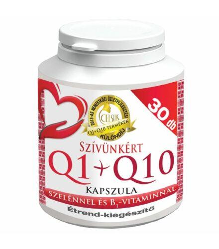 Celsus Szívünkért Q1+Q10 kapszula 30 db